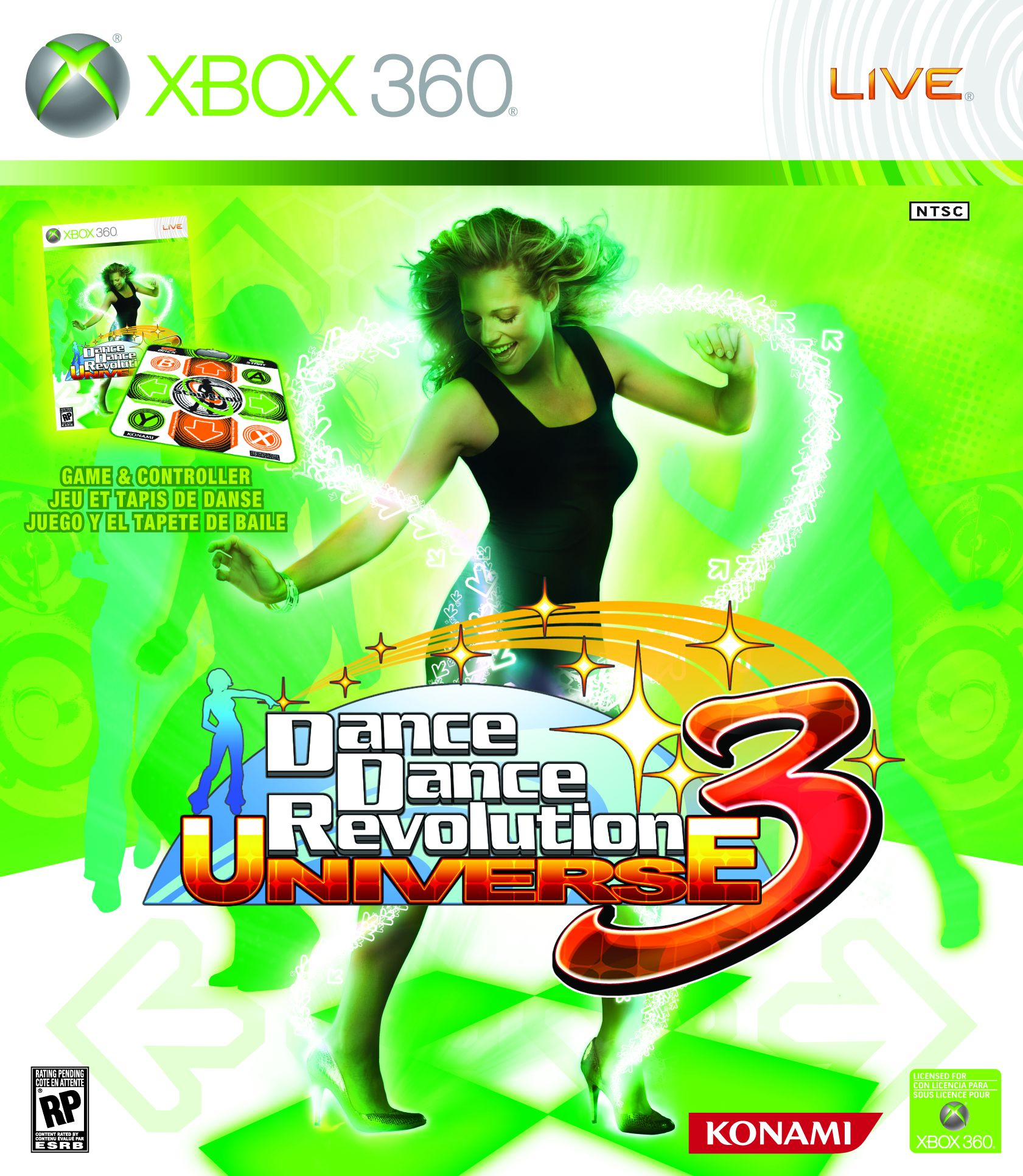 Dance dance revolution: hottest party 2 * all-new soundtrack includes smash-hits from the last 4 decades