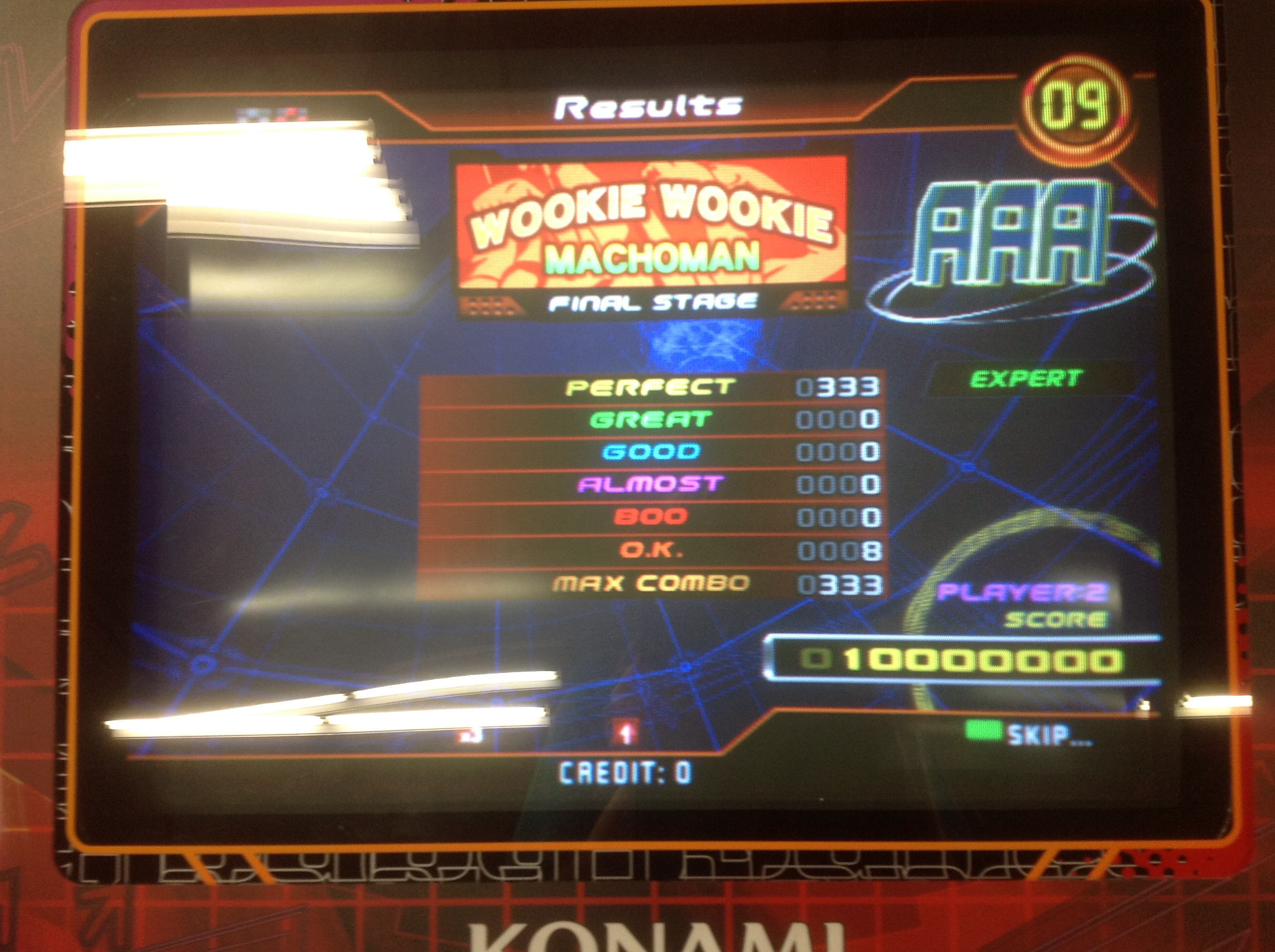 Kon - WOOKIE WOOKIE (Expert) AAA on DDR SuperNOVA (North America)