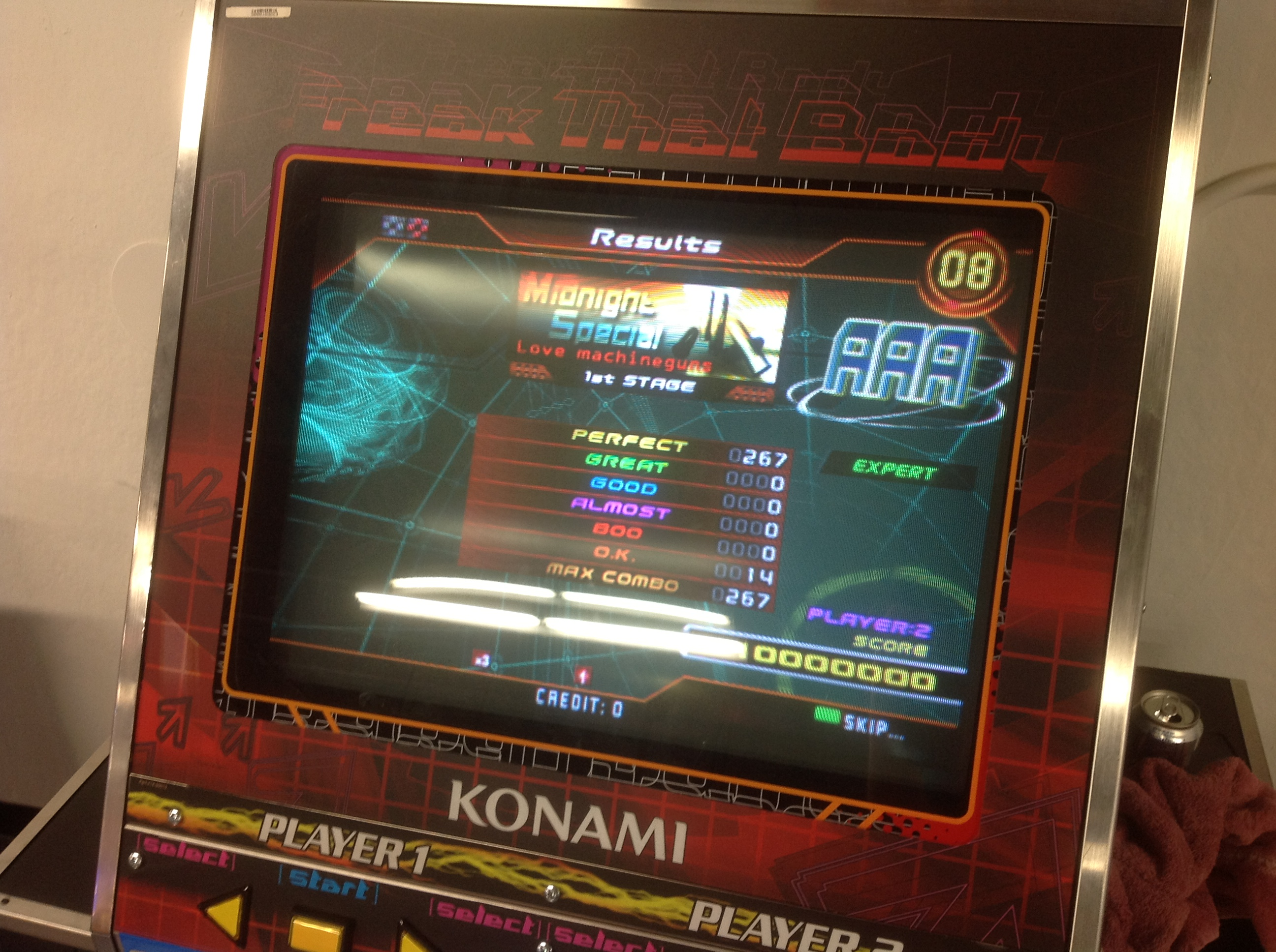 Kon - Midnight Special (Expert) AAA on DDR SuperNOVA (North America)