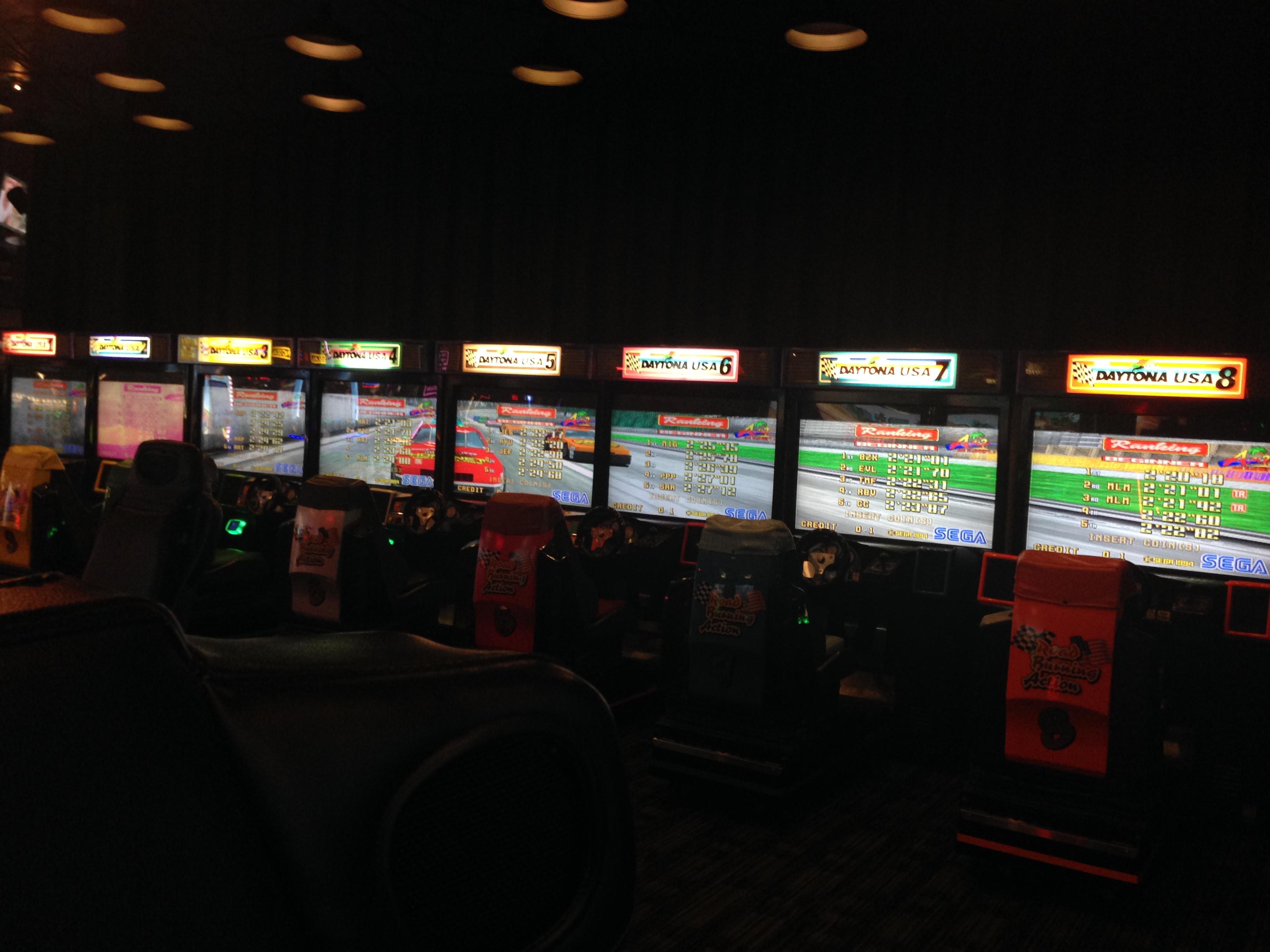 Daytona Usa Dave Amp Buster S Santa Anita Arcade Locations