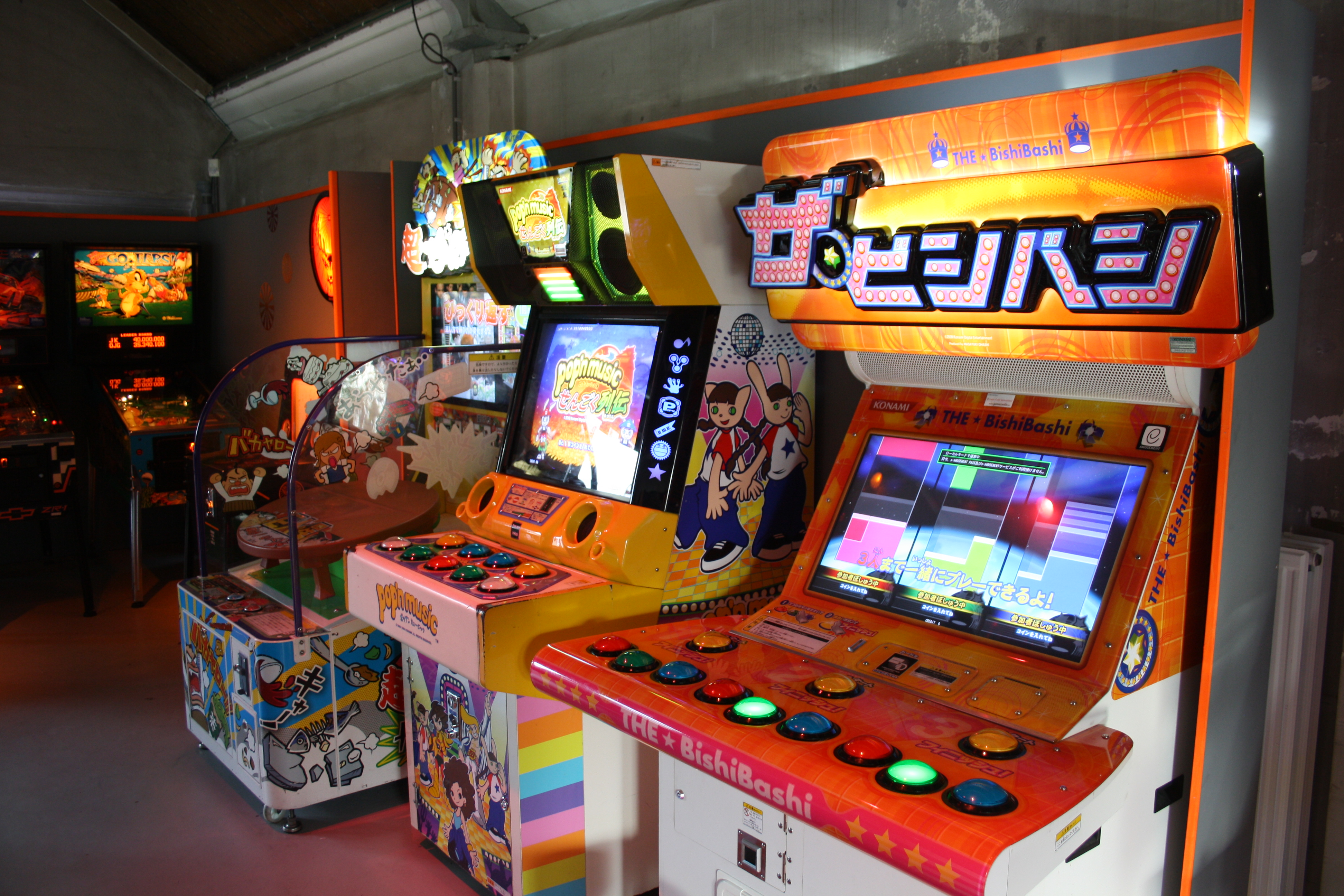 Source Pop N Bishi Bashi And Table Flip Arcade Locations Picture