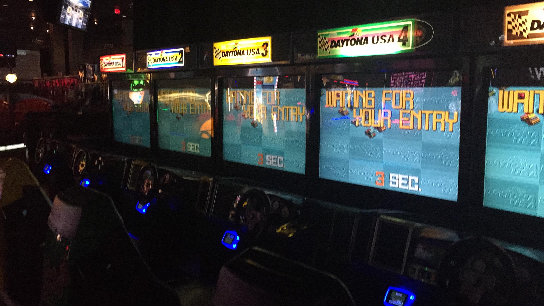 Daytona Usa Dave Amp Buster S Santa Anita 2 Arcade