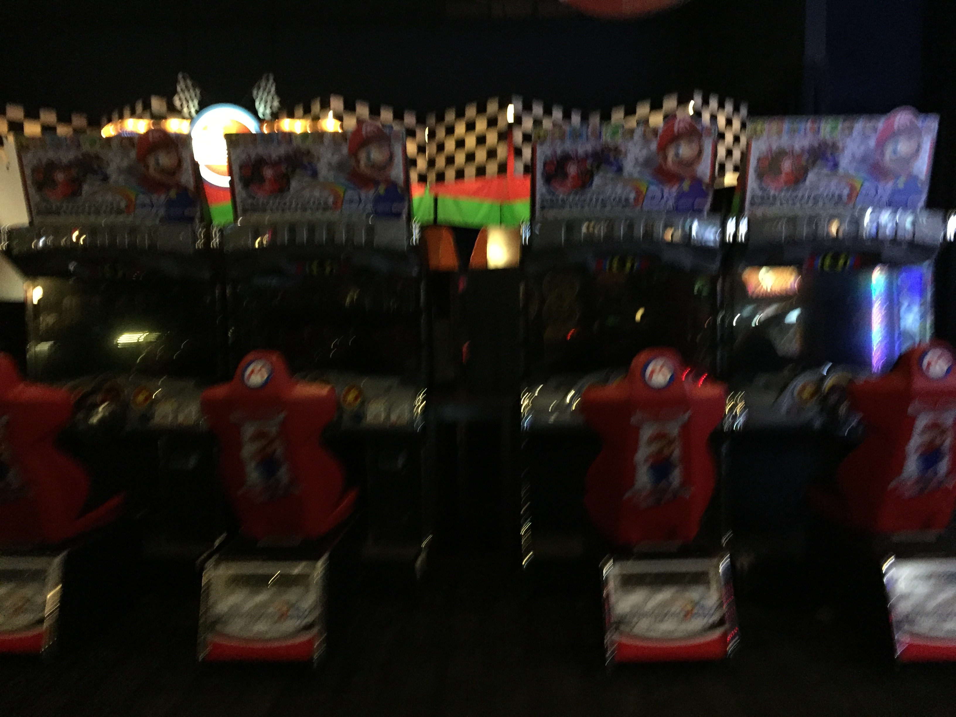 Mario Kart Arcade GP DX Dave & Buster's Orange 4