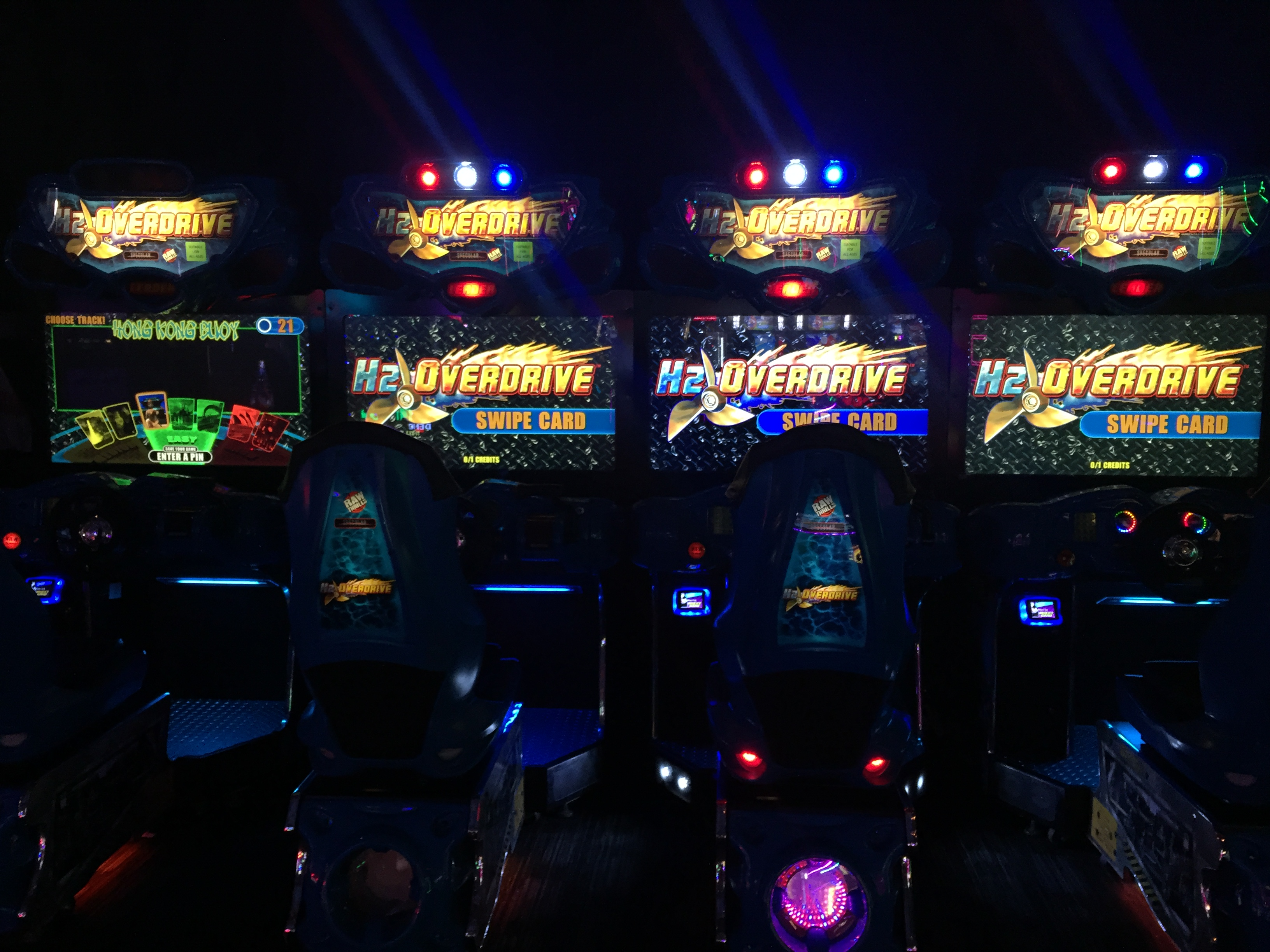 H2overdrive Dave And Buster Santa Anita Arcade Locations