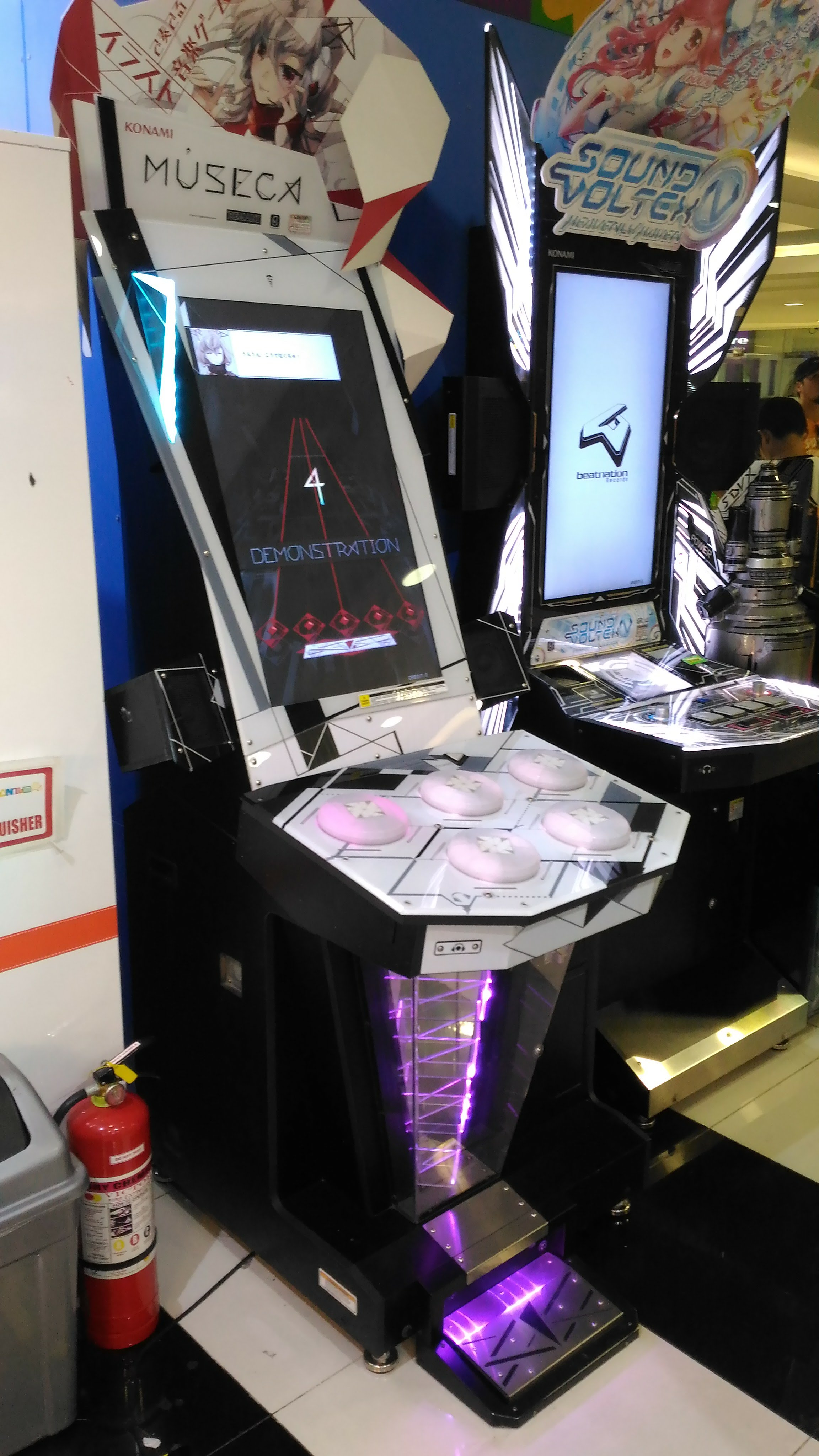 MUSECA and Sound Voltex - Arcade Locations - Picture Gallery