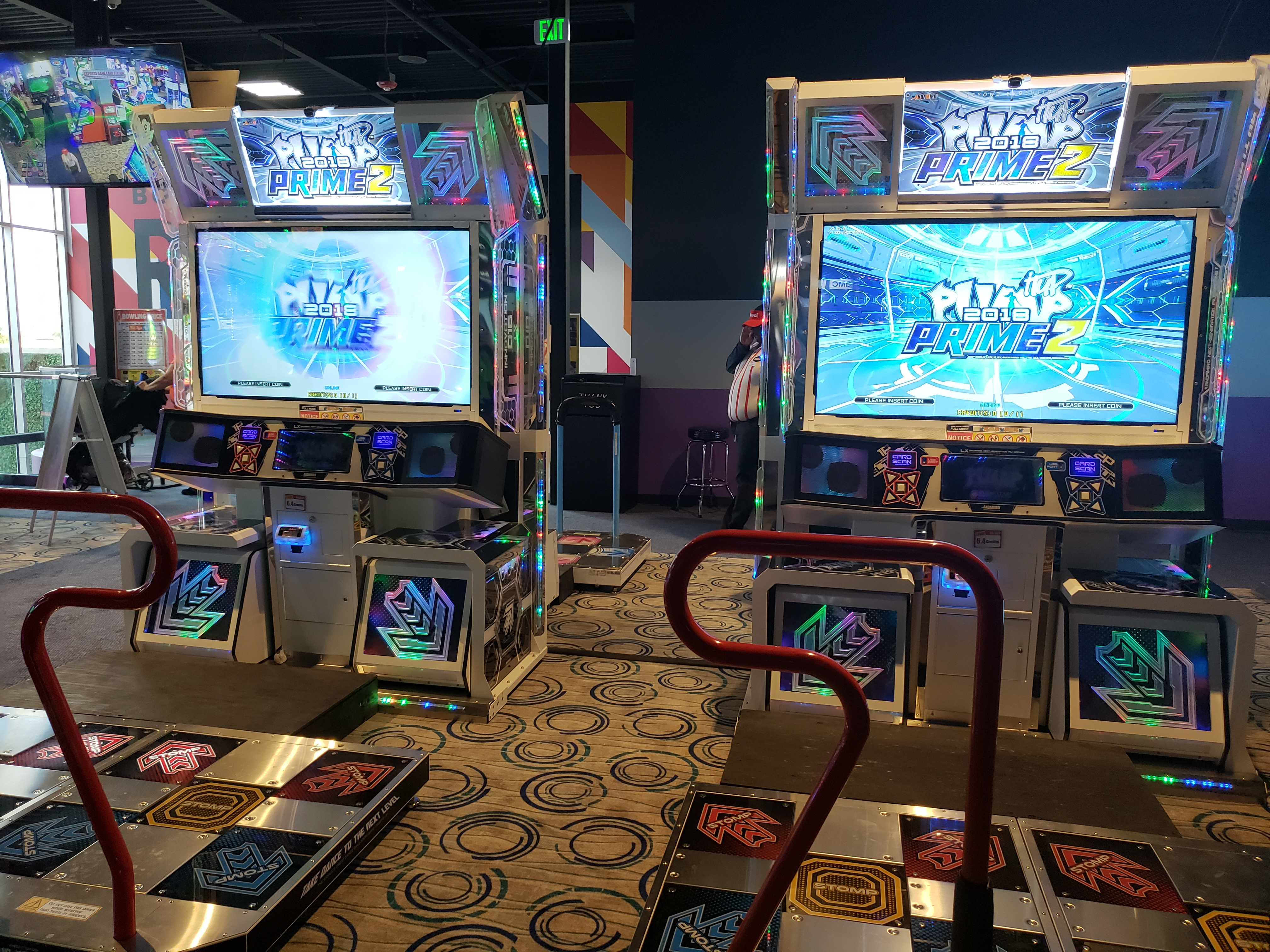 2 Pump it Up Prime 2 machines
