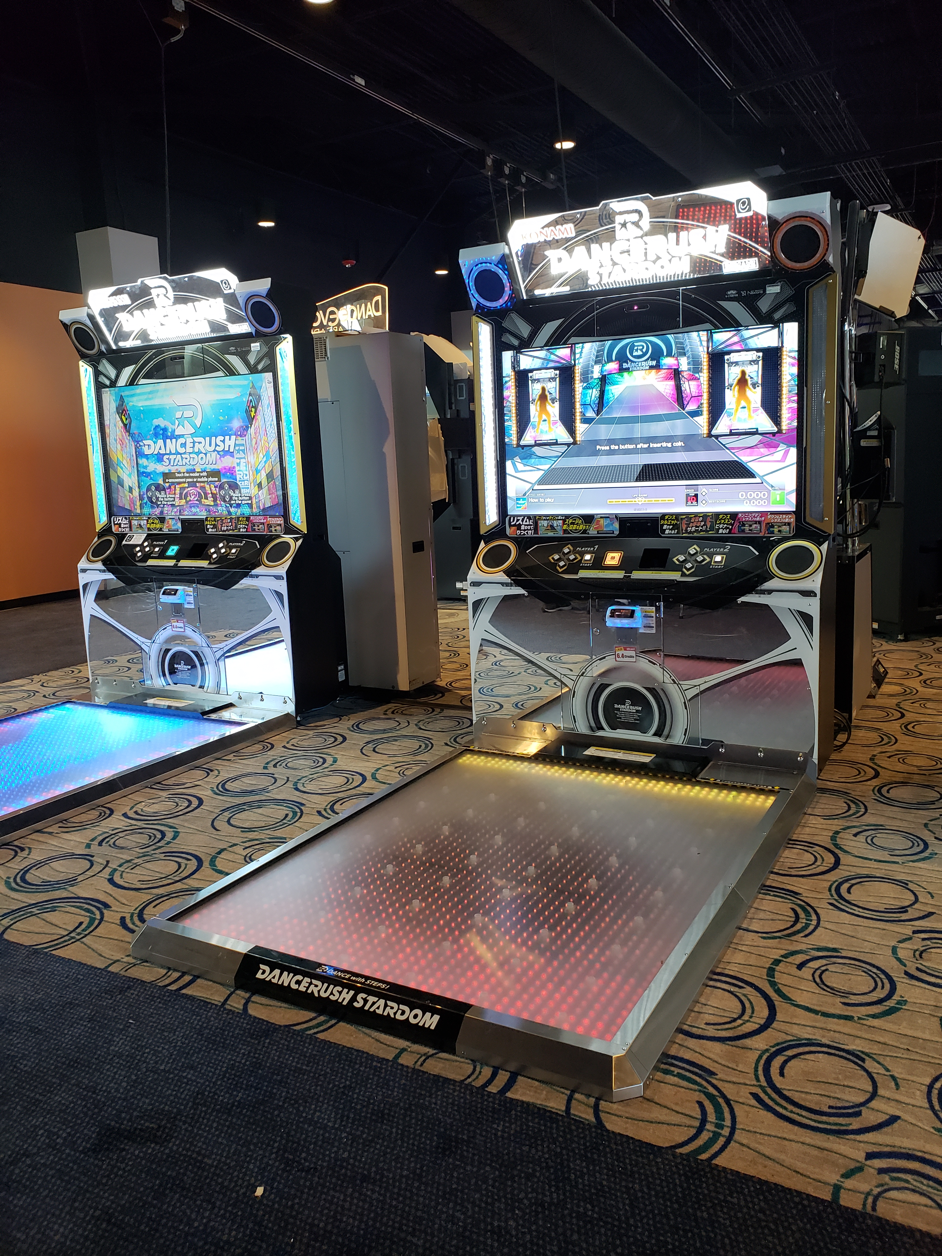 2 Dance Rush Stardom machines