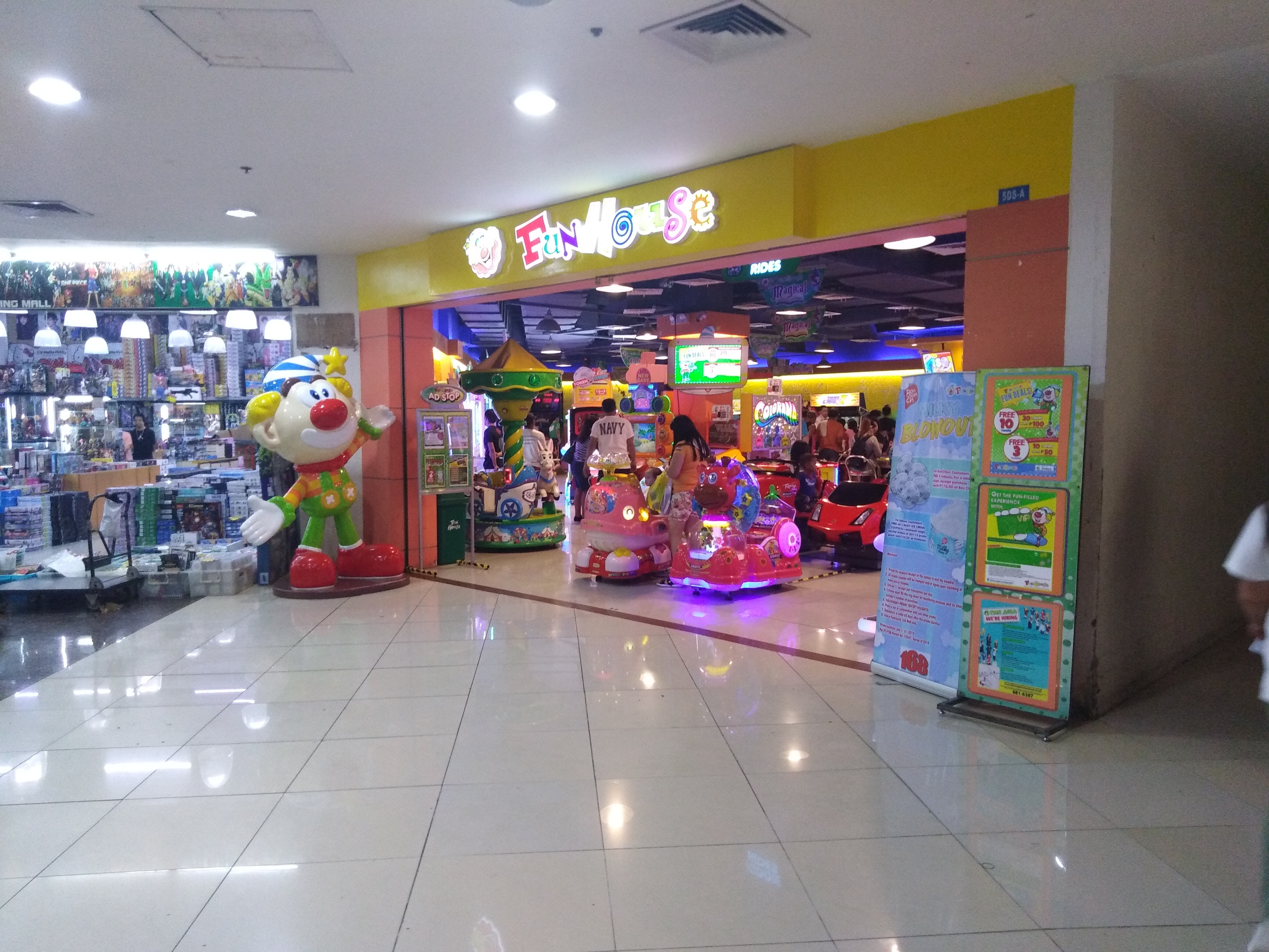 Entrance of FunHouse 168 Mall