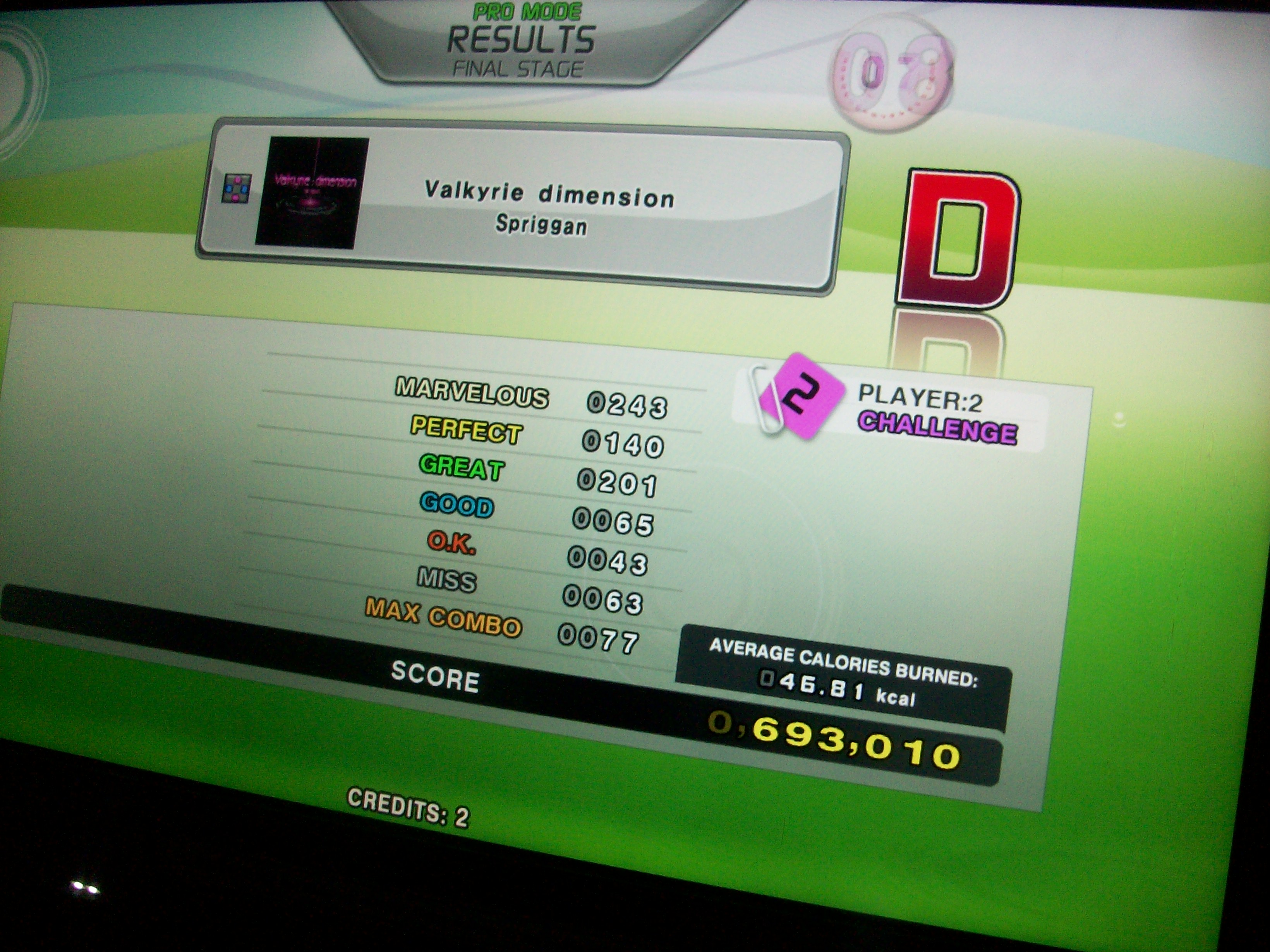 Valkyrie dimension CSP