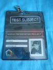 Test Subject Badge