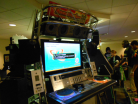 IIDX18 Resort Anthem cabinet running IIDX19 Lincle