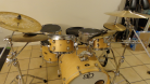 Drum Kit Front Side view