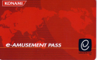 e-AMUSEMENT Card Front