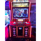 Injustice Arcade with Lane Master to its left