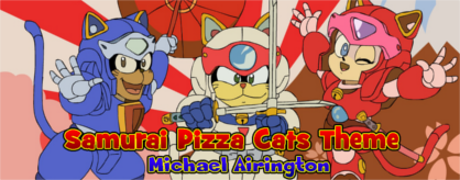 Samurai Pizza Cats Theme Ace Of Arrows Vol 13 One For Love And Love For All Simfiles Ziv