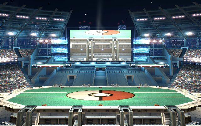 Pokemon Stadium Background Super Smash Bros. Mele...